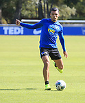 04.09.2019, Sportpark, Berlin, GER, 1.FBL, DFL,, Hertha BSC Training,<br /> DFL, regulations prohibit any use of photographs as image sequences and/or quasi-video<br /> im Bild Karim Rekik (Hertha BSC Berlin #4)<br /> <br />       <br /> Foto © nordphoto / Engler