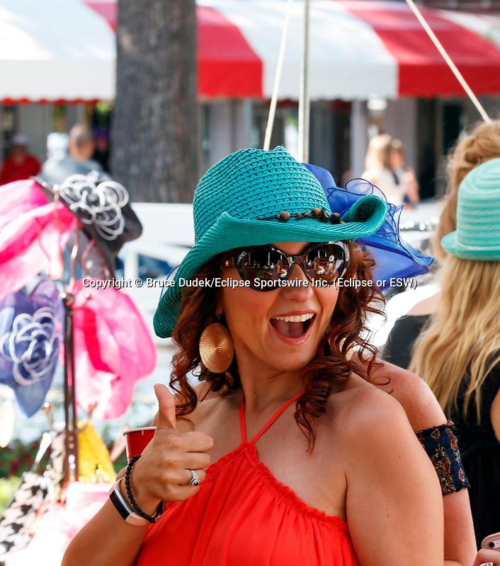 Scenes from around Saratoga Race Course July 29, 2017  (Bruce Dudek/Eclipse Sportswire)