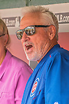15 June 2016: Chicago Cubs Manager Joe Maddon chats with the media prior to a game against the Washington Nationals at Nationals Park in Washington, DC. The Nationals defeated the Cubs 5-4 in 12 innings to take the rubber match of their 3-game series. Mandatory Credit: Ed Wolfstein Photo *** RAW (NEF) Image File Available ***