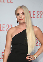 WESTWOOD, CA - AUGUST 9: Lindsey Vonn, at Premiere Of STX Films' &quot;Mile 22&quot; at The Regency Village Theatre in Westwood, California on August 9, 2018.<br /> CAP/MPIFS<br /> &copy;MPIFS/Capital Pictures