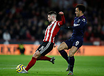 Oliver Norwood of Sheffield Utd and Felipe Anderson of West Ham United during the Premier League match at Bramall Lane, Sheffield. Picture date: 10th January 2020. Picture credit should read: Simon Bellis/Sportimage
