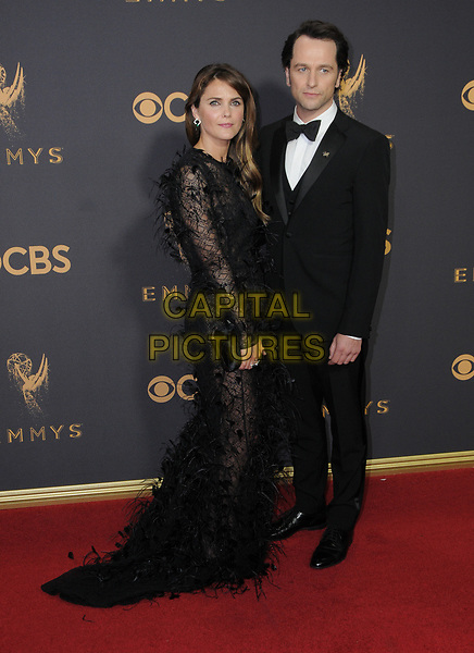 17 September  2017 - Los Angeles, California - Keri Russell, Matthew Rhys. 69th Annual Primetime Emmy Awards - Arrivals held at Microsoft Theater in Los Angeles. <br /> CAP/ADM/BT<br /> &copy;BT/ADM/Capital Pictures