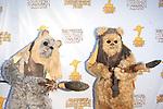 BURBANK - JUN 26: Star Wars characters, Ewoks at the 39th Annual Saturn Awards held at Castaways on June 26, 2013 in Burbank, California