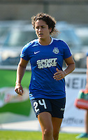 Kansas City, MO - Saturday July 16, 2016: Molly Menchel prior to a regular season National Women's Soccer League (NWSL) match between FC Kansas City and the Washington Spirit at Swope Soccer Village.