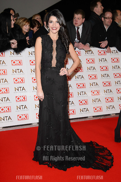 Natalie Anderson arrives for the National TV Awards 2015 at the O2 Arena, Greenwich London. 21/01/2015 Picture by: Steve Vas / Featureflash