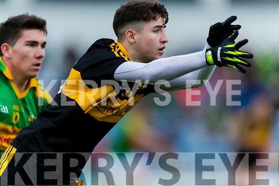 Jordan Kiely  Dr Crokes in action against  South Kerry in the Senior County Football Final in Austin Stack Park on Sunday