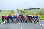 The peloton during Stage 2 of the 2019 ASDA Tour de Yorkshire Women's Race, running 132km from Bridlington to Scarborough, Yorkshire, England. 4th May 2019.<br /> Picture: ASO/SWPix | Cyclefile<br /> <br /> All photos usage must carry mandatory copyright credit (© Cyclefile | ASO/SWPix)
