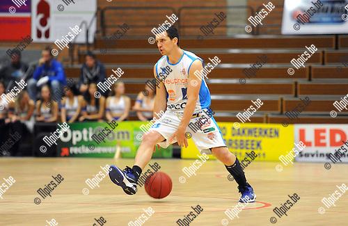 2013-10-01 / Basketbal / seizoen 2013-2014 / Kangoeroes Willebroek / Witse Van Schil<br /><br />Foto: Mpics.be