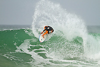 Saturday July 10, 2010. Damien Hobgood (USA) Free surfing at Supertubes, Jeffreys Bay, Eastern Cape, South Africa.  Photo: joliphotos.com