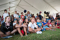 AR_07272016_RIO_HOUSTON_00058.ARW  © Amory Ross / US Sailing Team.  HOUSTON - TEXAS- USA. July 27, 2016. The Houston Yacht Club hosts a send-off party for the US Sailing Team during the Optimist Nationals regatta, a day before the sailors fly to Rio for the Summer Olympics.