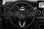 Car pictures of steering wheel view of a 2018 Mercedes Benz C Class Base 5 Door Wagon