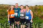 Taking part in the Valentia Cable Half Marathon on Saturday were l-r; Louise, Paul,& Fiona O'Connor with Emma Cunnane all from Tralee.