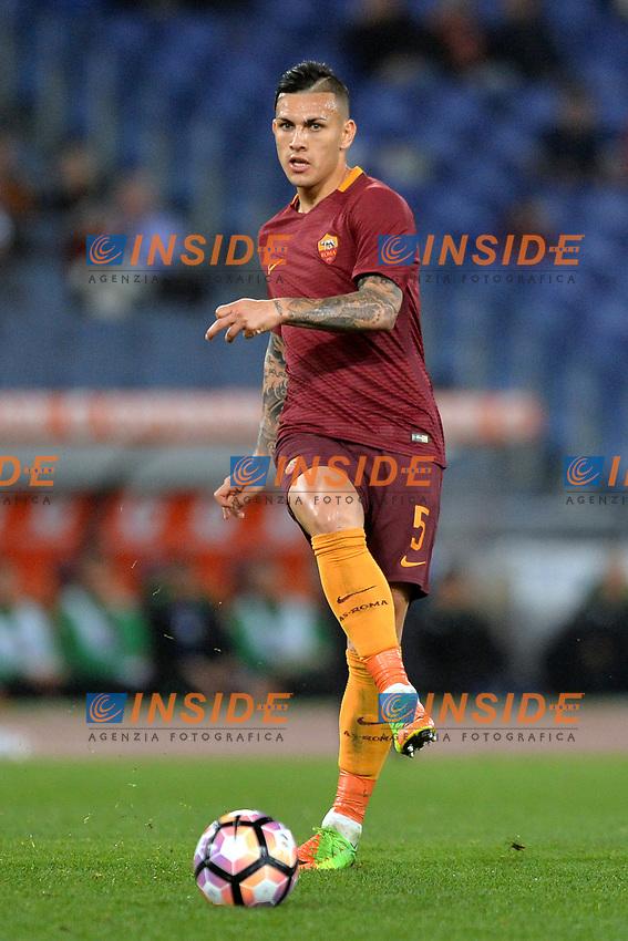 Leandro Paredes Roma.<br /> Roma 19-03-2017  Stadio Olimpico<br /> Campionato Serie A, <br /> AS Roma - Sassuolo<br /> Foto Antonietta Baldassarre / Insidefoto