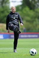 Jayne Ludlow Head Coach of Wales Women during the Wales Women Training Session at the Cardiff International Sports Stadium in Cardiff, Wales, UK. Monday 03 June 2019