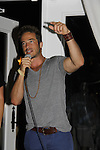 Ryan Carnes sings - Karoake and Bartending at La Tavola Restaurant and Bar where Actors from Y&R, General Hospital and Days donated their time to Southwest Florida 16th Annual SOAPFEST - a celebrity weekend May 22 thru May 25, 2015 benefitting the Arts for Kids and children with special needs and ITC - Island Theatre Co. on May 24, 2015. (Photos by Sue Coflin/Max Photos)