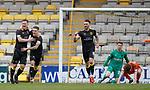 11.05.2018 Livingston v Dundee Utd:  Alan Lithgow celebrates his goal for Livingston