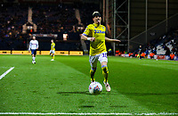 Leeds United's Ezgjan&nbsp;Alioski can't reach a pass<br /> <br /> Photographer Alex Dodd/CameraSport<br /> <br /> The EFL Sky Bet Championship - Preston North End v Leeds United -Tuesday 9th April 2019 - Deepdale Stadium - Preston<br /> <br /> World Copyright &copy; 2019 CameraSport. All rights reserved. 43 Linden Ave. Countesthorpe. Leicester. England. LE8 5PG - Tel: +44 (0) 116 277 4147 - admin@camerasport.com - www.camerasport.com