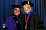 DePaul University School for New Learning held its 119th commencement ceremony, Saturday, June 10, 2017, at the Rosemont Theatre in Rosemont, IL. (DePaul University/Jeff Carrion)