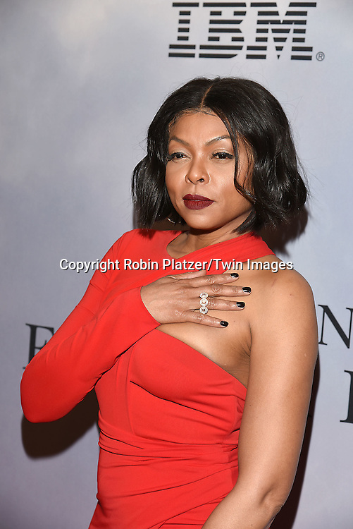 Taraji P Henson attends &quot;Hidden Figures&quot; Special Screening on December 10, 2016 at SVA Theatre in New York, New York, USA.<br /> <br /> photo by Robin Platzer/Twin Images<br />  <br /> phone number 212-935-0770