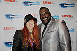 Jane Elissa and Broadway performer Phillip Boykin - New Year's Eve 2016 at The Copacabana, New York City, New York. (Photo by Sue Coflin/Max Photos)  suemax13@optonline.net