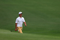 Thorbjorn Olesen (DEN) on the 16th fairway during the 2nd round at the The Masters , Augusta National, Augusta, Georgia, USA. 12/04/2019.<br /> Picture Fran Caffrey / Golffile.ie<br /> <br /> All photo usage must carry mandatory copyright credit (© Golffile | Fran Caffrey)