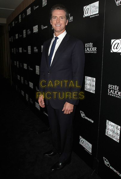 Gavin Newson.The Los Angeles Gay And Lesbian Center Honors Rachel Zoe benifiting Homeless Youth Services held at the Sunset Tower, West Hollywood, California, USA..January 23rd, 2012.full length black suit.CAP/ADM/KB.©Kevan Brooks/AdMedia/Capital Pictures.