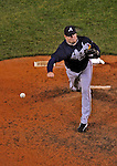 30 March 2008: Atlanta Braves' pitcher Peter Moylan on the mound against the Washington Nationals at Nationals Park in Washington, DC. The Nationals christened their  new ballpark with a win over the visiting Braves 3-2 in the inaugural game of the state-of-the-art sports facility...Mandatory Photo Credit: Ed Wolfstein Photo