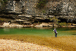 Spavinaw Spring Creek, fall season, Ark. 09