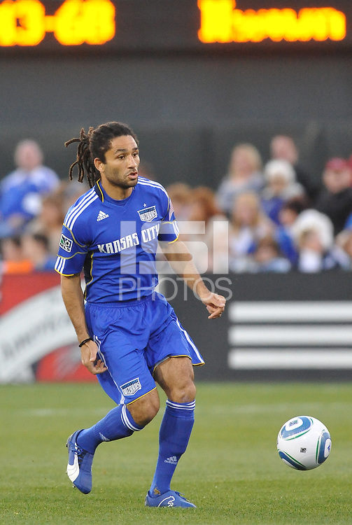 Stephane Auvray...Kansas City Wizards defeated Colorado Rapids 1-0 at Community America Ballpark, Kansas City, Kansas.
