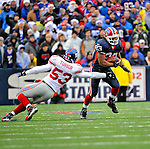 23 December 2007: Buffalo Bills running back Marshawn Lynch (23) in action against the New York Giants at Ralph Wilson Stadium in Orchard Park, NY. The Giants defeated the Bills 38-21. ..Mandatory Photo Credit: Ed Wolfstein Photo