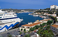 ESP, Spanien, Balearen, Menorca, Mahon: Stadt und Hafen | ESP, Spain, Balearic Islands, Menorca, Mahon: Town and Harbour