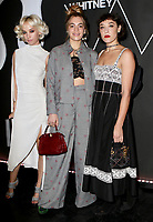 www.acepixs.com<br /> <br /> November 14 2017, New York City<br /> <br /> (L-R) Margot, Chelsea Leyland and Mia Moretti arriving at the 2017 Whitney Art Party at The Whitney Museum of American Art on November 14, 2017 in New York City.<br /> <br /> By Line: Nancy Rivera/ACE Pictures<br /> <br /> <br /> ACE Pictures Inc<br /> Tel: 6467670430<br /> Email: info@acepixs.com<br /> www.acepixs.com