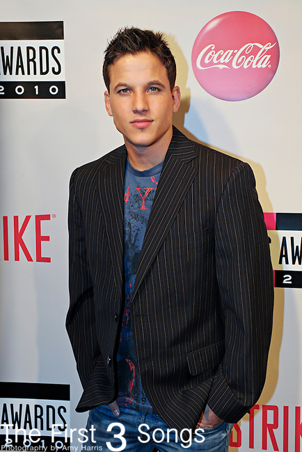 """Mike Manning, from the MTV reality television series """"The Real World D.C."""", attends the 2010 """"American Music Awards"""" Pre-Party Charity Bowl Tournament hosted by Dick Clark Productions at Lucky Strike in Los Angeles, California."""