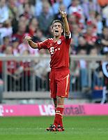 FUSSBALL   1. BUNDESLIGA  SAISON 2012/2013   7. Spieltag FC Bayern Muenchen - TSG Hoffenheim    06.10.2012 Philipp Lahm (FC Bayern Muenchen)
