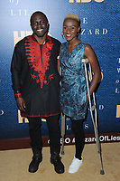 www.acepixs.com<br /> May 11, 2017  New York City<br /> <br /> Gbenga Akinnagbe attending the 'The Wizard Of Lies' New York Premiere at The Museum of Modern Art on May 11, 2017 in New York City. <br /> <br /> Credit: Kristin Callahan/ACE Pictures<br /> <br /> <br /> Tel: 646 769 0430<br /> Email: info@acepixs.com