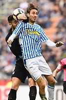 Roberto Gagliardini of Internazionale, Simone Missiroli of SPAL <br /> Milano 10-03-2018 Stadio San Siro Football Serie A 2018/2019 Inter - Spal<br /> photo Image Sport / Insidefoto