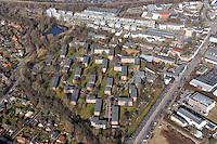 Wiesnerring Baustiel der 70er: EUROPA, DEUTSCHLAND, HAMBURG, (EUROPE, GERMANY), 20.08.2011: Bergedorf, Wiesnerring,   Am Gueterbahnhof, Vergleichder Baustiel, 1970er vs 2000..
