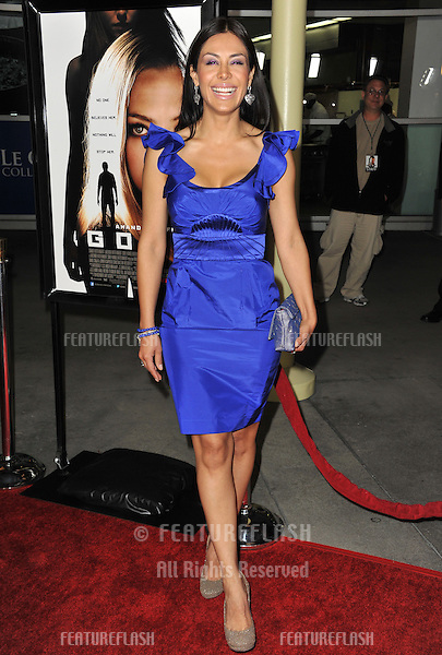 "Carla Ortiz at the Los Angeles premiere of ""Gone"" at the Arclight Theatre, Hollywood..February 21, 2012  Los Angeles, CA.Picture: Paul Smith / Featureflash"