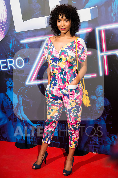 Montse Pla attends to the premiere of the The Hole Zero Show at Teatro Calderon in Madrid. October 04, 2016. (ALTERPHOTOS/Borja B.Hojas)