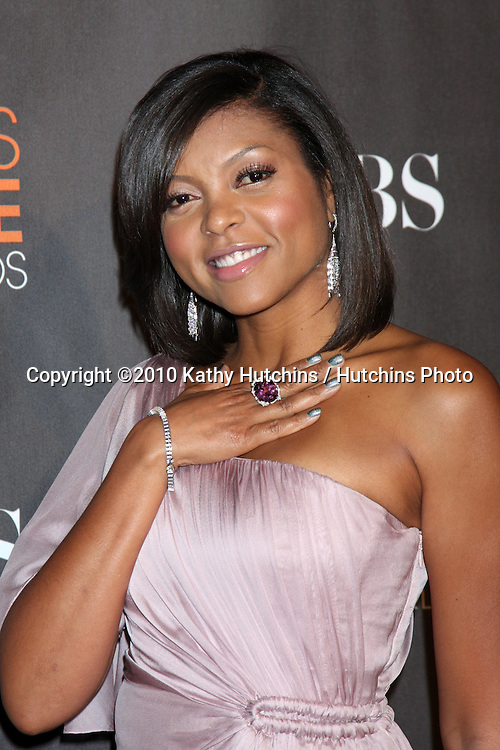 Taraji P. Henson.arriving  at the 2010 People's Choice Awards.Nokia Theater.January 6, 2010.©2010 Kathy Hutchins / Hutchins Photo.