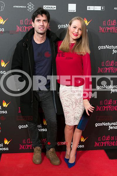 Esmeralda Moya attend the Premiere of the movie &quot;El club de los incomprendidos&quot; at callao Cinema in Madrid, Spain. December 1, 2014. (ALTERPHOTOS/Carlos Dafonte) /NortePhoto<br /> /NortePhoto