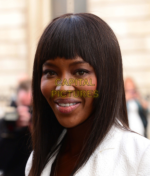 Naomi Campbell<br /> The Face TV press launch, Royal Opera House, Covent Garden, London, England.<br /> September 26th, 2013<br /> headshot portrait white<br /> CAP/BF<br /> &copy;Bob Fidgeon/Capital Pictures