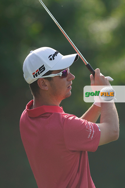 Lucas Herbert (AUS) during the third round of the Omega Dubai Desert Classic, Emirates Golf Club, Dubai, UAE. 26/01/2019<br /> Picture: Golffile | Phil Inglis<br /> <br /> <br /> All photo usage must carry mandatory copyright credit (&copy; Golffile | Phil Inglis)