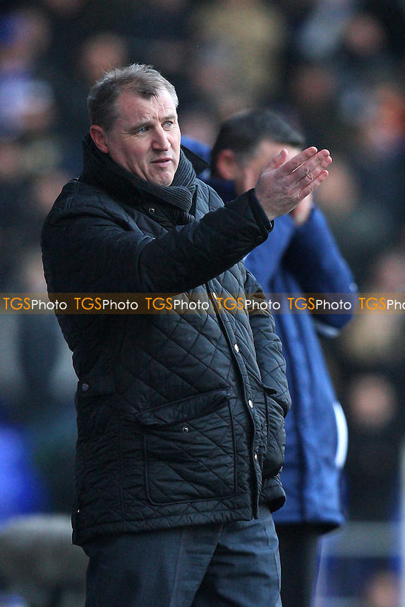 Ipswich Town manager Paul Jewell - Ipswich Town vs Middlesborough - nPower Championship Football at Portman Road, Ipswich, Suffolk - 11/02/12 - MANDATORY CREDIT: Gavin Ellis/TGSPHOTO - Self billing applies where appropriate - 0845 094 6026 - contact@tgsphoto.co.uk - NO UNPAID USE.