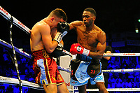 Asinia Byfield defeats Sammy McNess during a Boxing Show at the Copper Box Arena on 8th July 2017