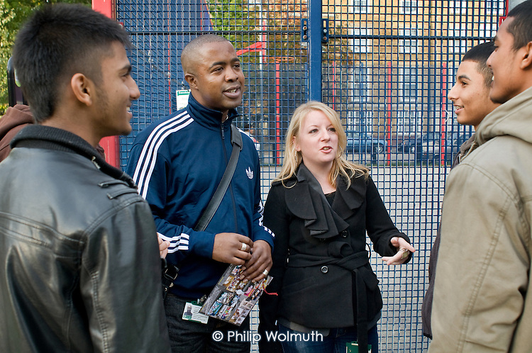 Youth Disorder Engagement Workers, Regent's Park Estate, Camden.
