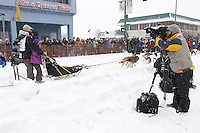 Trent Herbst Saturday, March 3, 2012  Ceremonial Start of Iditarod 2012 in Anchorage, Alaska.