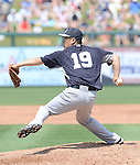 Masahiro Tanaka (Yankees),<br /> MARCH 22, 2014 - MLB : Masahiro Tanaka of the New York Yankees pitches against the Minnesota Twins during a spring training baseball game at Hammond Stadium in Fort Myers, Florida, USA.<br /> (Photo by AFLO)