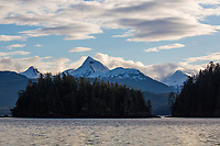 Coast mountains, Baranof Island, southeast, Alaska.