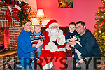 At Santas grotto organised by Inter Kenmare. <br /> Clare ,James, Joseph, &amp; Ger McCarthy